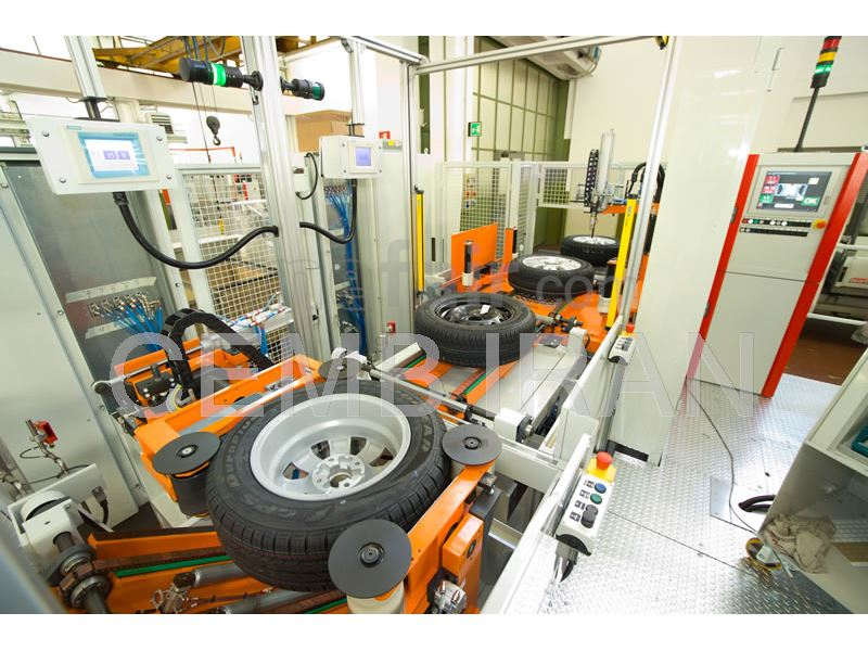 Balancing Machine for Wheels - CEMB