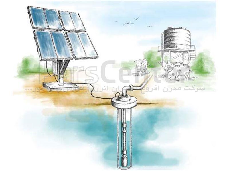 پمپ خورشیدی 2 اینچ  50 متری