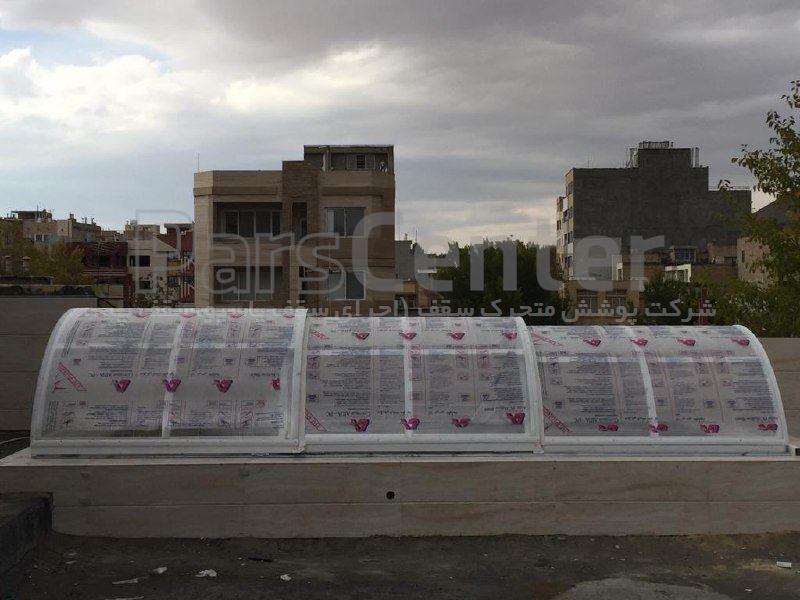 نورگیر سقفی پاسیو کد LCL (شهر کرد)