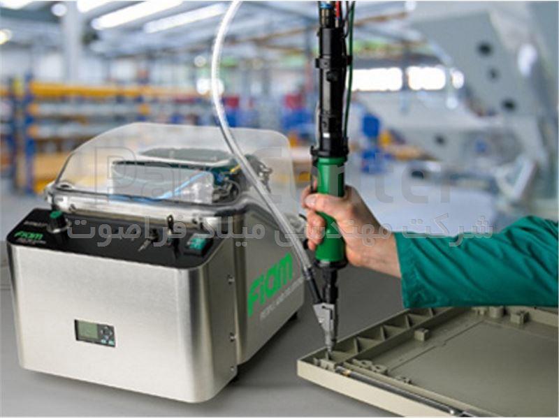 پیچ گوشتی بادی با سیستم تغذیه خودکار پیچ FIAM ایتالیا