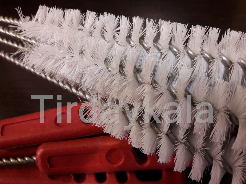 Brushes for milking machine