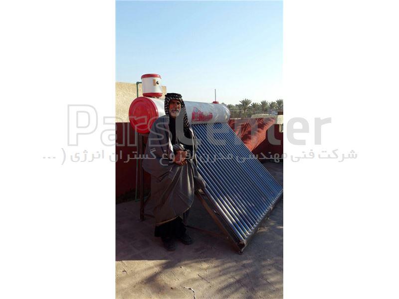آبگرمکن خورشیدی 180 لیتری فلوتری وکیوم تیوپ