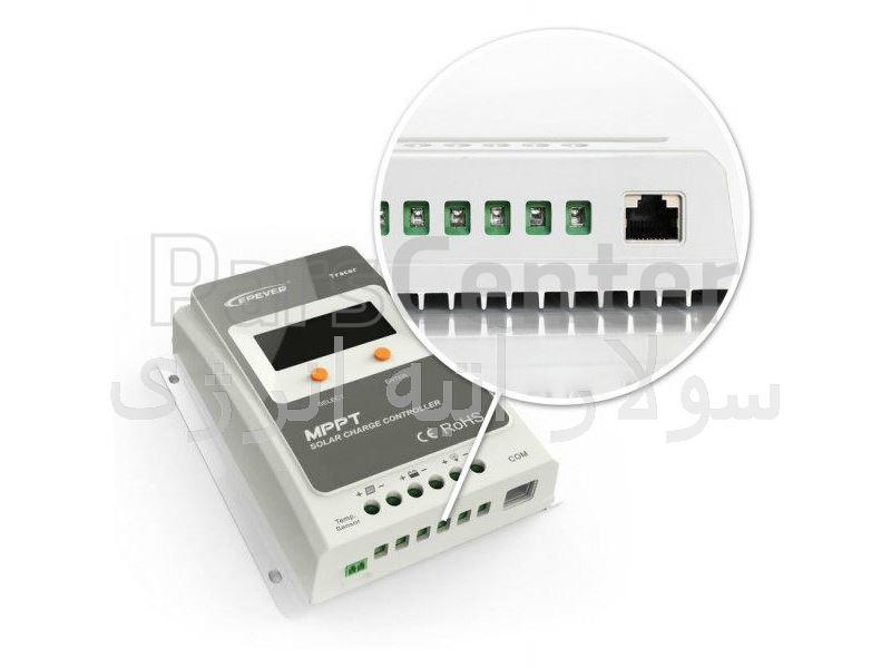 شارژ کنترلر 10 آمپر  MPPT مدل EPSOLAR TRACER 1210A