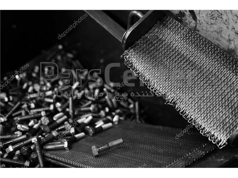 تولید پیچ و مهره های صنعتی فولادی