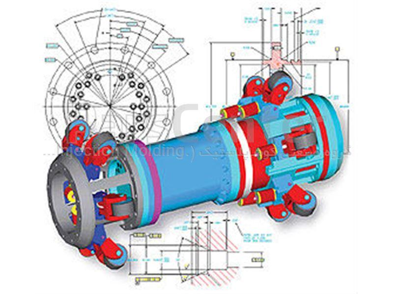 طراحی سه بعدی، مدلسازی، ابرنقاط، مونتاژ، نقشه های فنی، نمونه سازی سریع