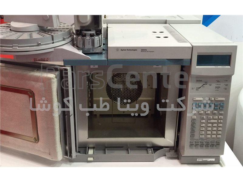 فروش دستگاه gc مدل 6890N ساخت کمپانی  agilent امریکا