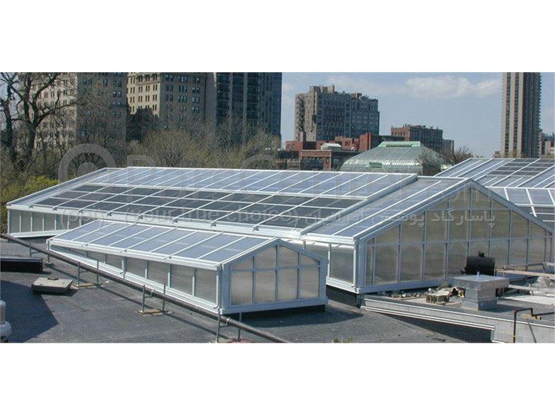 Building skylight_ نورگیر ثابت سقف مجتمع های تجاری و پاساژ 25
