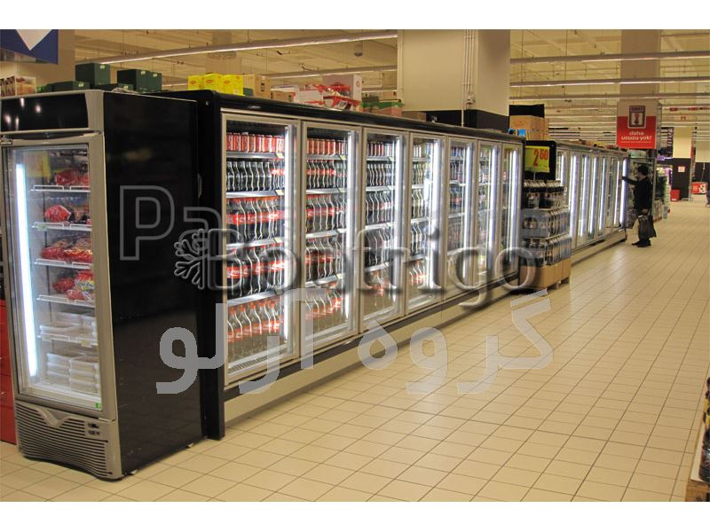 یخچال ایستاده درب دار فروشگاهی،یخچال فروشگاهی