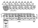 زنجیر اجاق گرمگن لیتوگرافی SIRCATENE Chains for Lithographic Oven