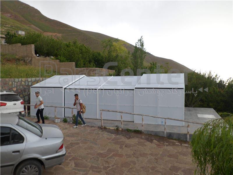 اجراء سقف  متحرک  استخر شناء - طالقان