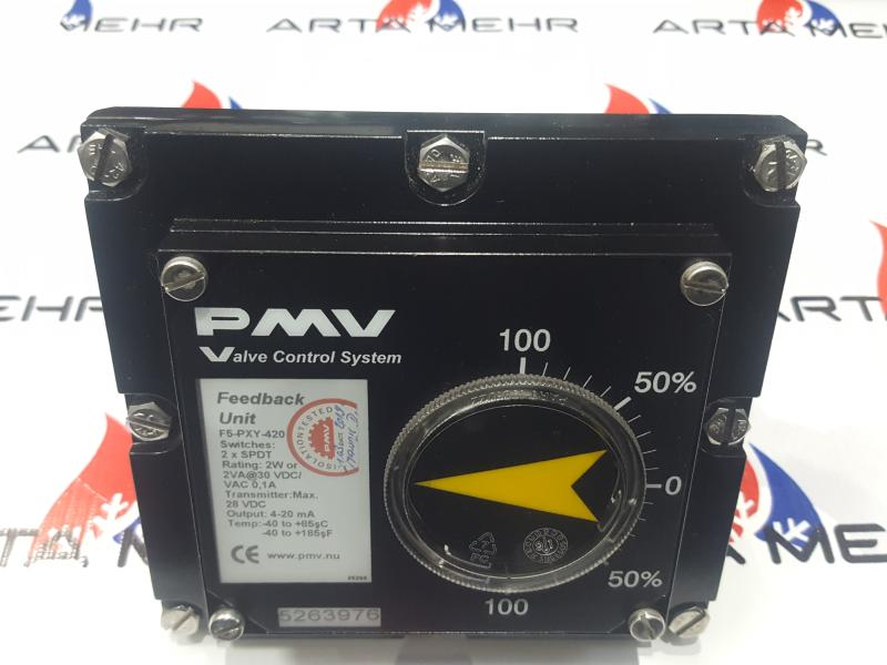 پوزیشنر Flowserve مدل F5-pxy-420 -PMV Feedback Unit