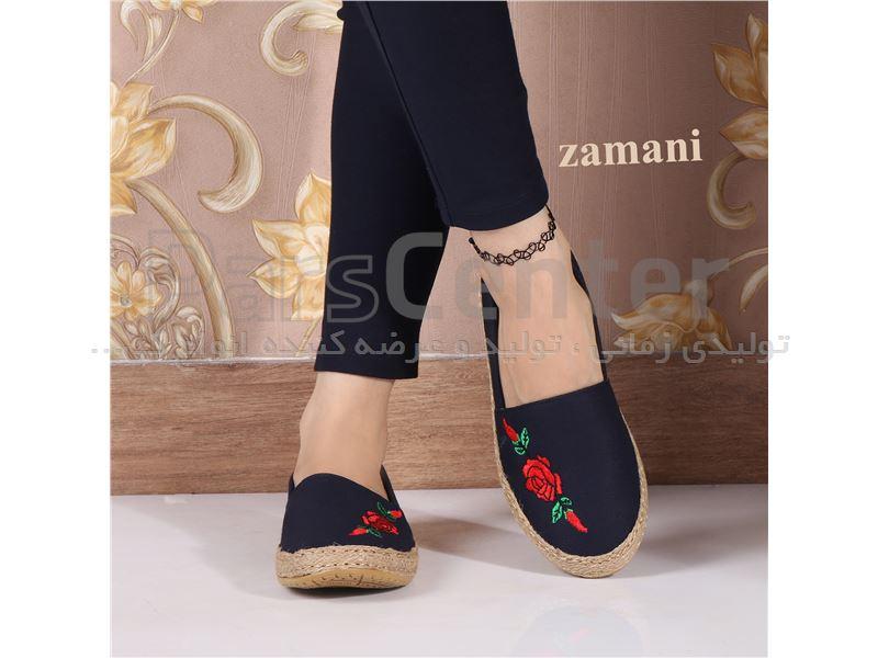 کفش زنانه پارچه ای کد 419