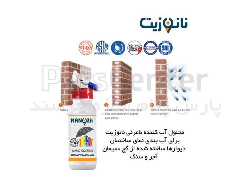محلول ضد آب کننده نامرئی نانوزیت250میلی لیتر