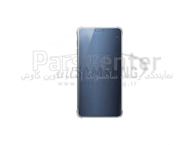 Samsung Galaxy Note 5 Clear View Cover Black ویو کاور مشکی گلکسی نوت 5 سامسونگ