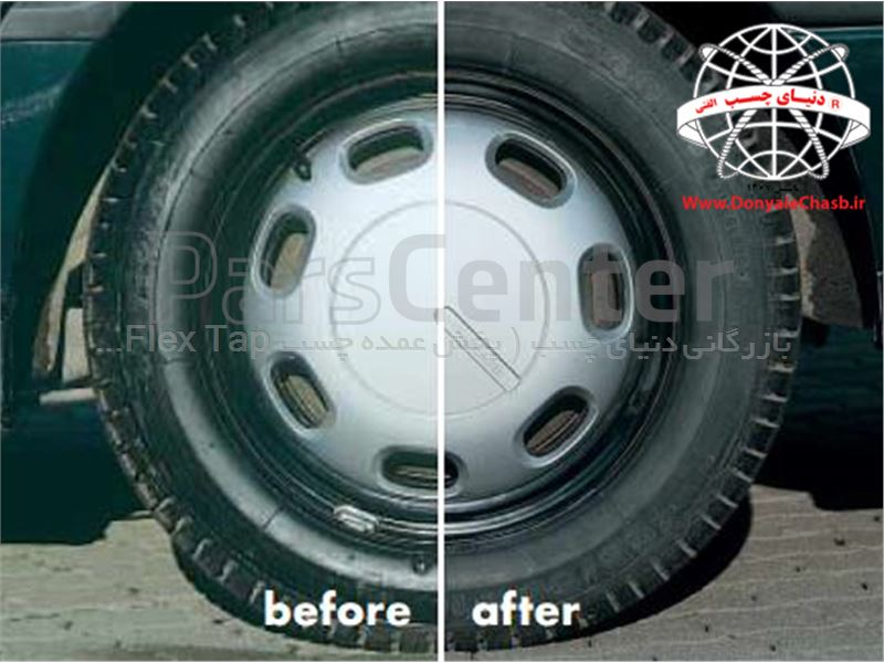 اسپری فوم لاستیک وورث Wurth Tyre Foam آلمان