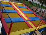 8 bed  Olympic & junior outdoor trampoline