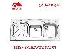 سینک ظرفشویی روکار کد 614 استیل البرز