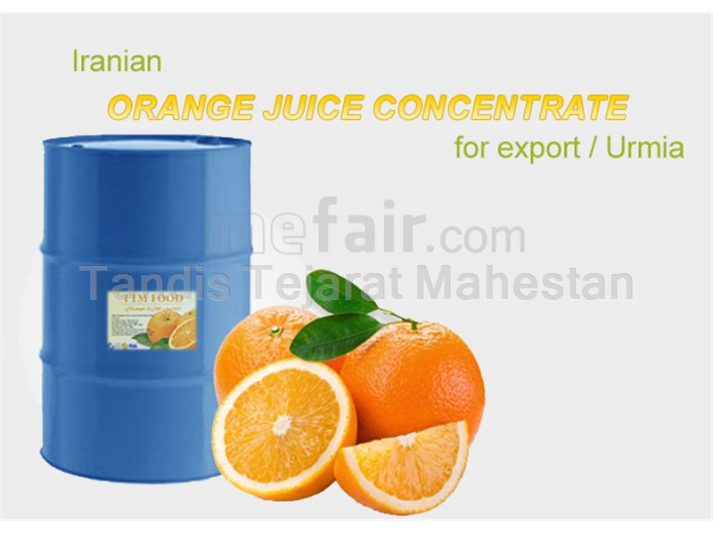 Export of orange juice concentrate to Central Asia