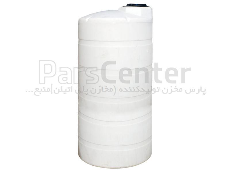 مخازن پلی اتیلن عمودی 550 لیتری پلاستونیک