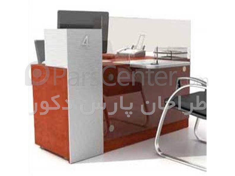 کانتر و پیشخوان بانکی ( میز منشی )