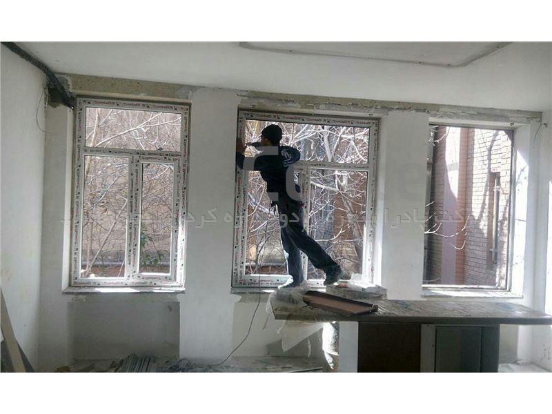 تعویض پنجره قدیمی بدون تخریب TPG12