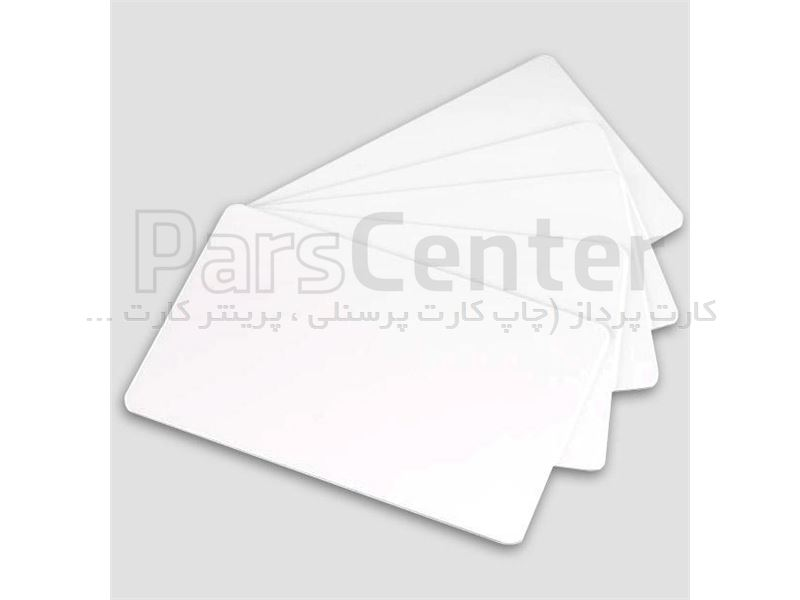 کارت pvc ساده بدون حافظه