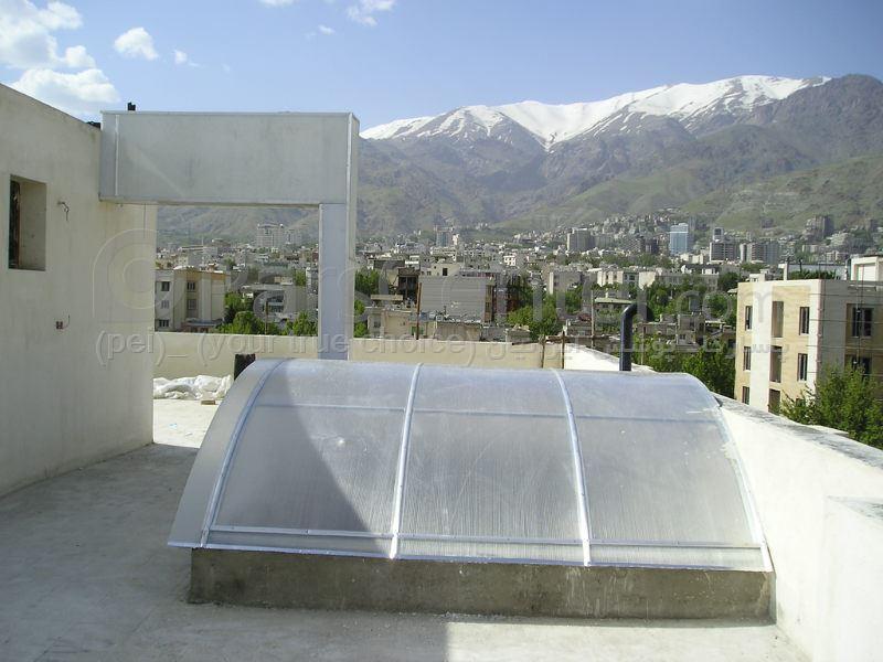 Building skylight_ نورگیر سقف مجتمع های تجاری و پاساژ 19