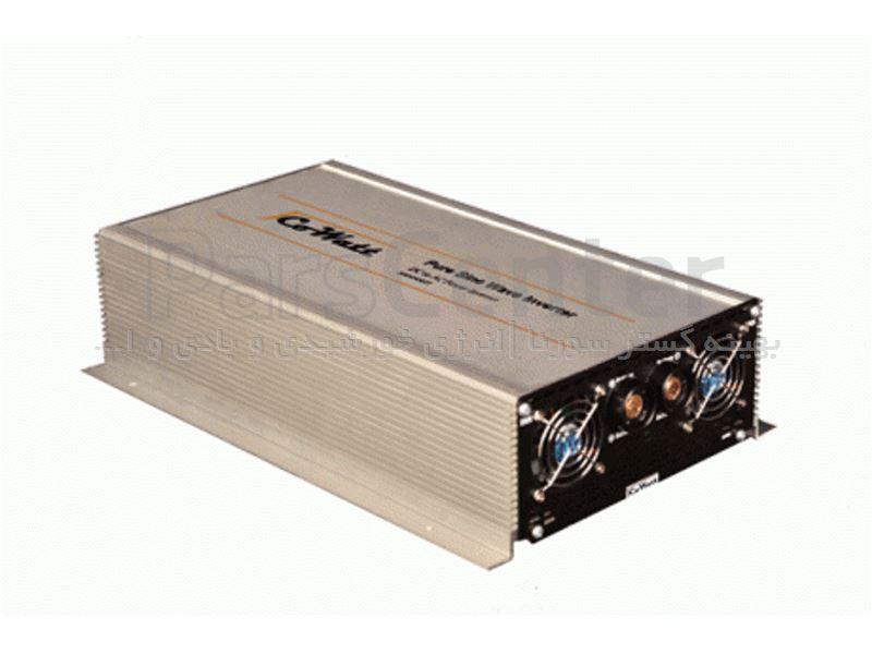 اینورتر خورشیدی ایرانی(مبدل 24 به 220 سولار) 1000 وات سینوسی خالص (مبدل برق باتری به شهر)  برند jcowatt