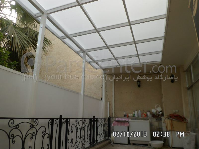 سیتم پوشش بالکن و تراس متحرک Balcony and terrace 102
