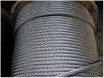 Elevator governer wire rope