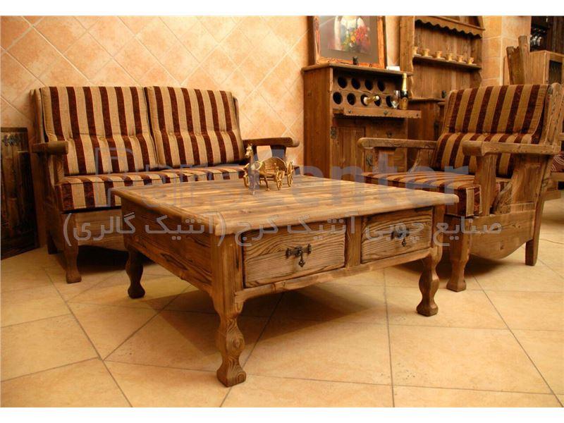 میز جلومبلی چهارکشو گالری آنتیک کرج