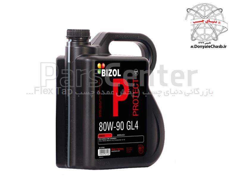 روغن گیربکس بیزول 4L) BIZOL Protect Gear Oil GL4 80W-90) آلمان