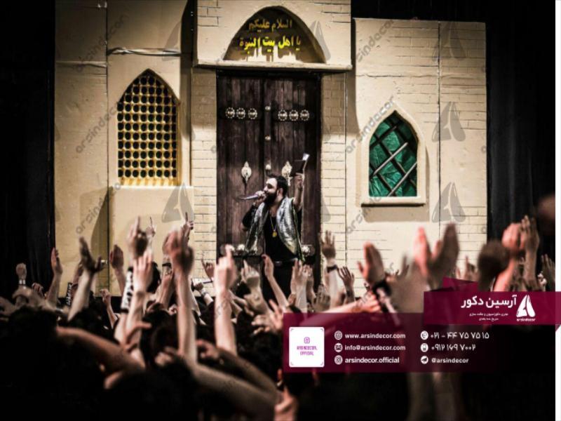 طراحی و ساخت ماکت خانه حضرت علی
