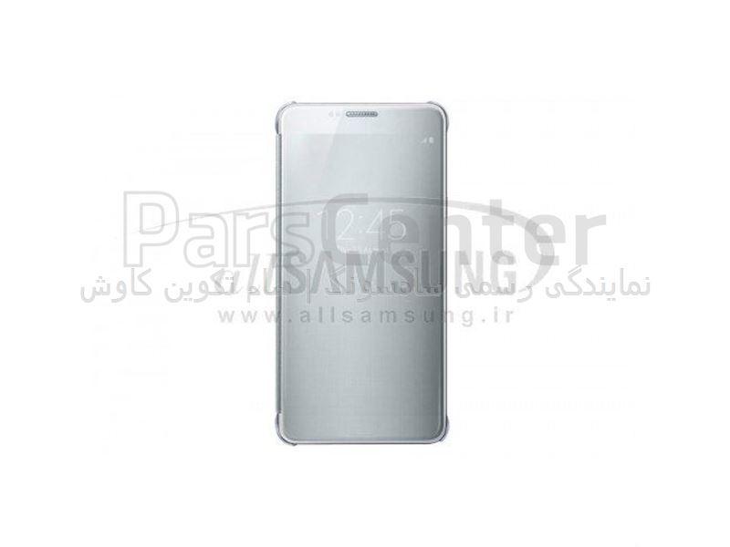 Samsung Galaxy Note 5 Clear View Cover Silver ویو کاور نقره ای گلکسی نوت 5 سامسونگ