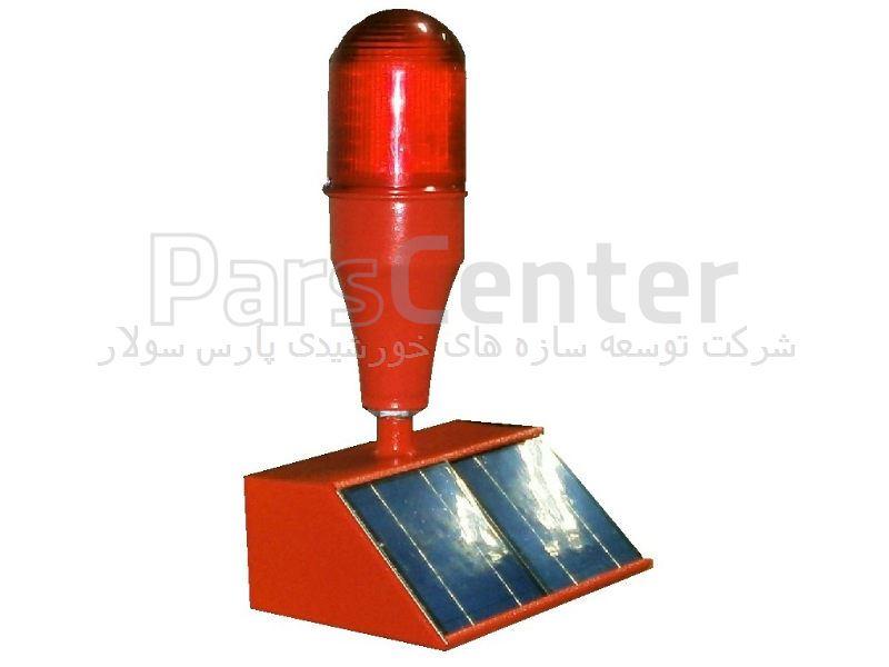 چراغ دکل خورشیدی با 100 لامپ LED