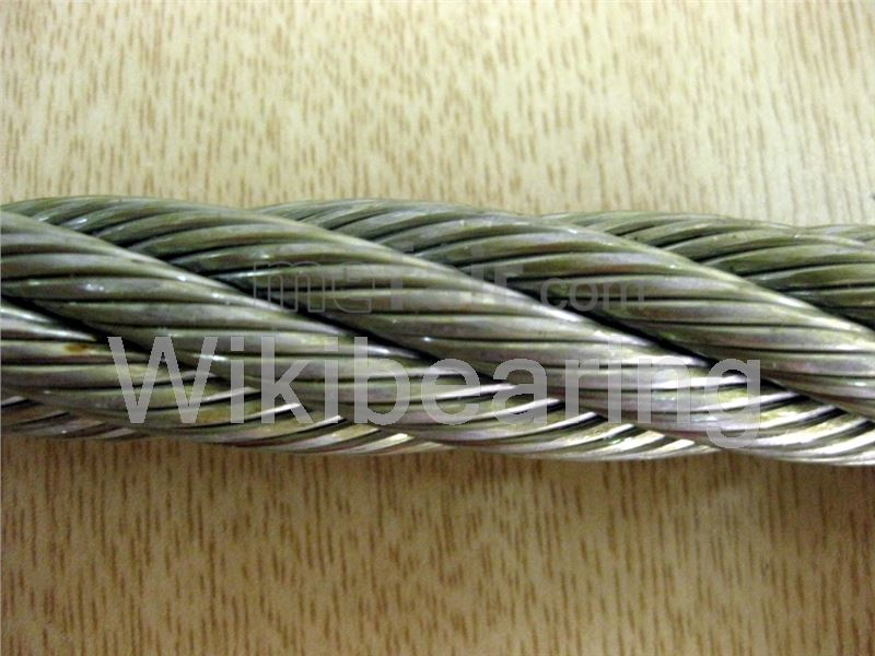 7 strand stainless steel wire rope