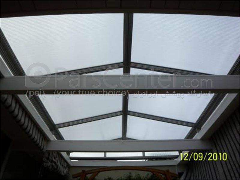 Building skylight_ نورگیر سقف متحرک مسکونی