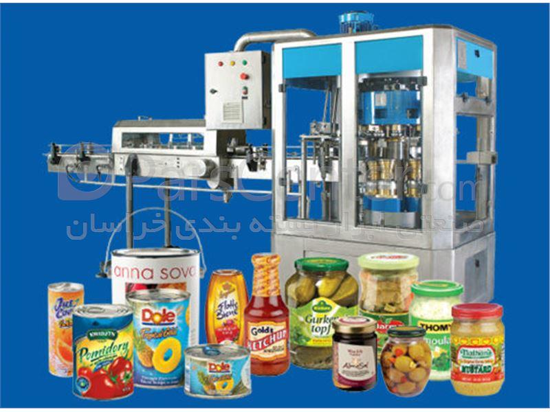 خط تولیدوبسته بندی عسل،مربا،کمپوت ،کنسرو ،آبمیوه