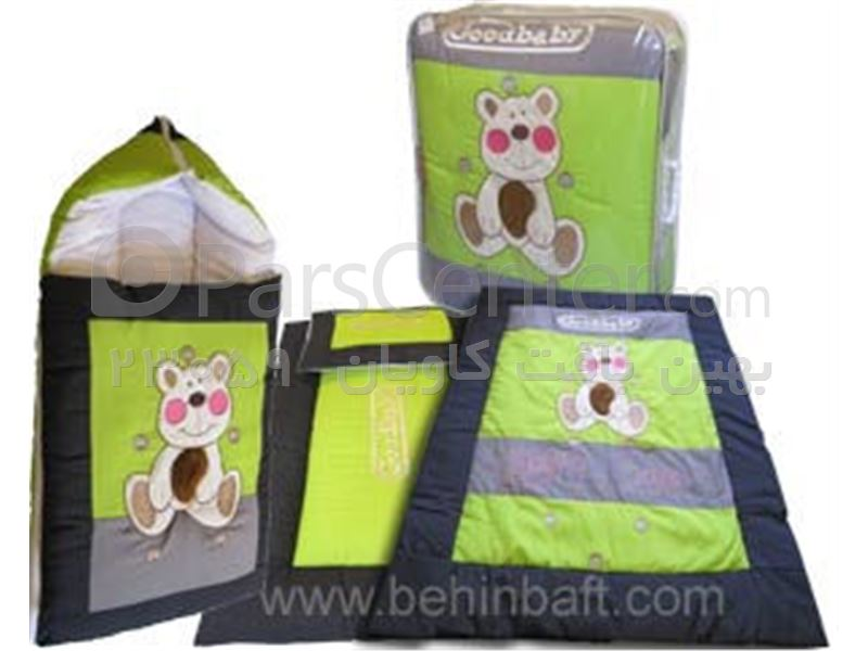 سرویس خواب و قنداق فرنگی مدل خرس شاد