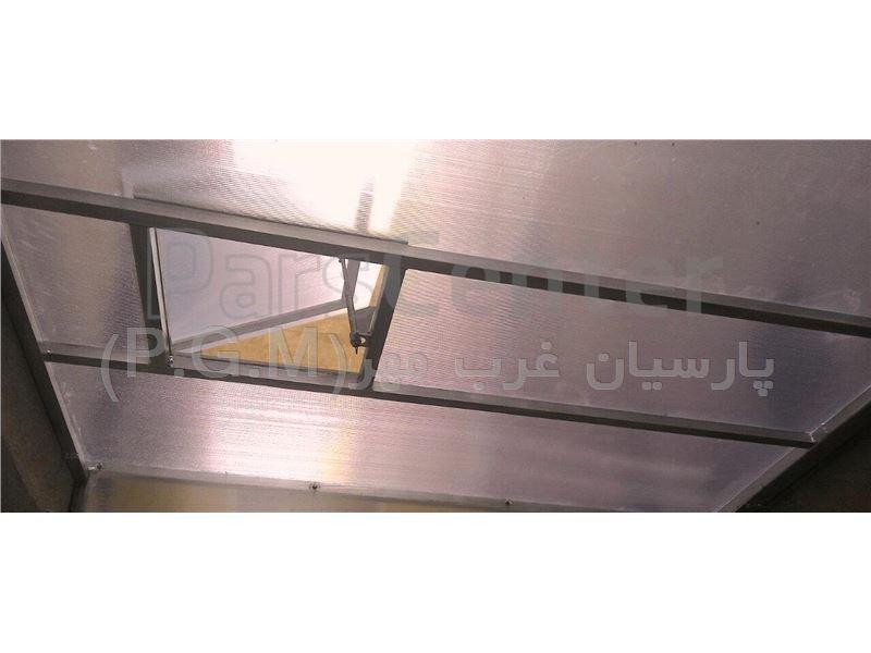 اجرای سقف پلی کربنات پاسیو ( تهرانسر- گلها)