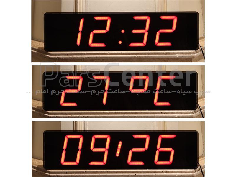 ساعت دیجیتال برای سالن در ابعاد مختلف (LED)