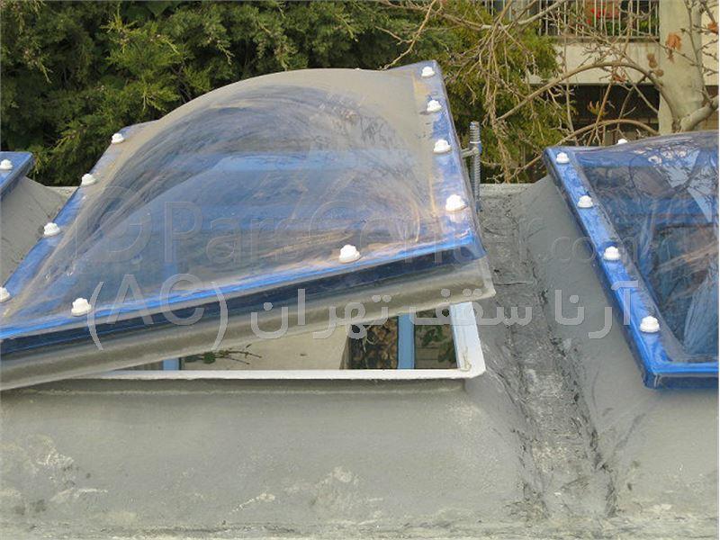 پوشش سقف پاسیو با ساره حبابی (کارگر شمالی )