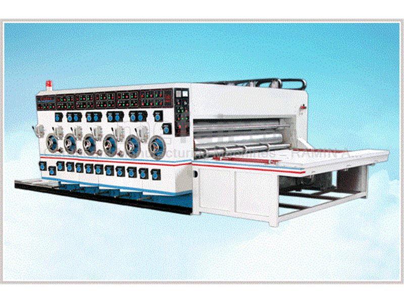 Semi-automatic carton printer and slotter