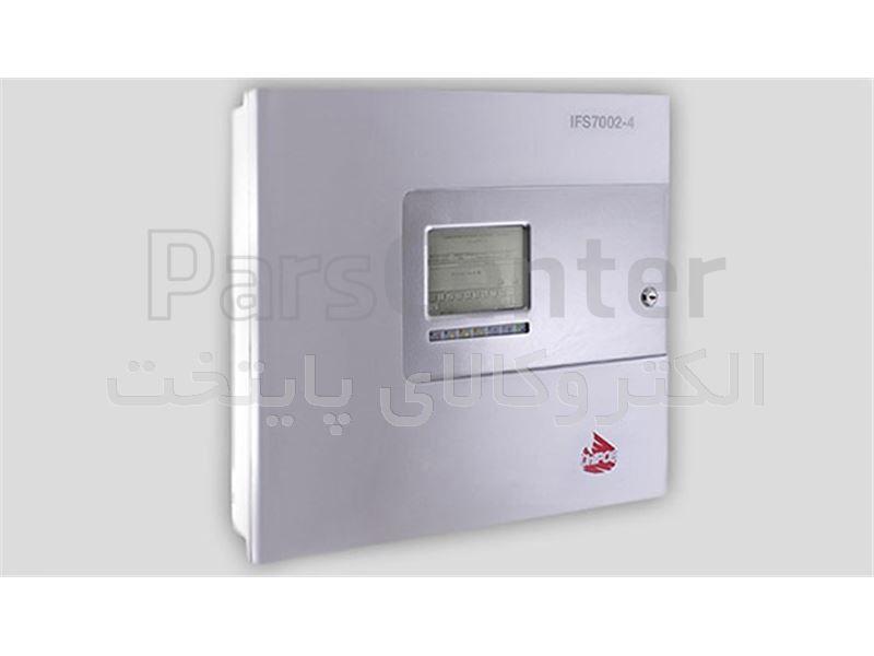 کنترل پنل اعلام حریق ادرس پذیر 4 لوپ UniPos مدل IFS7002-4