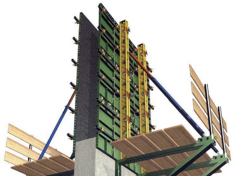 پارس قالب - قالب فلزی بتن، جک سقفی، داربست فلزی، اتصالات قالب بندیپارس قالب