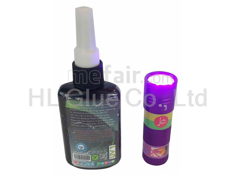 UV 50 ML. HL glass adhesive kit