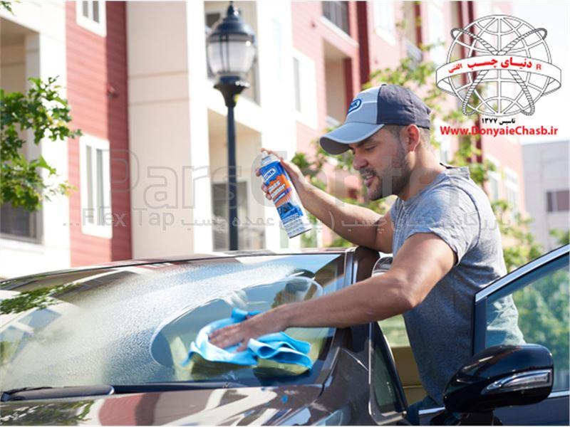 اسپری تمیزکننده شیشه گانک GUNK GLASS CLEANER آمریکا