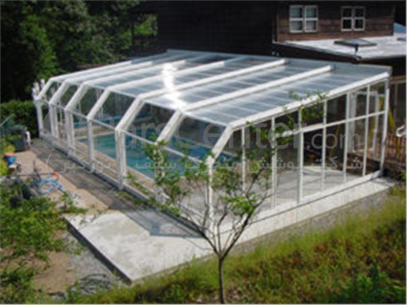 پوشش سقف استخر چند ضلعی کد PMS E09