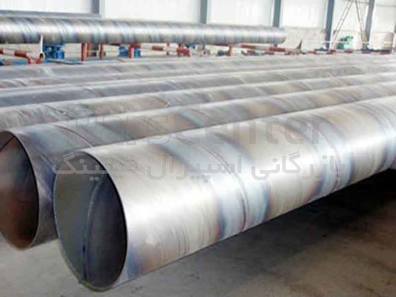 لوله اسپیرال فولادی 22 اینچ - بازرگانی اسپیرال فیتینگ