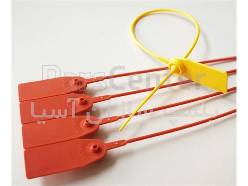 پلمپ پلاستیکی تسمه باریک با قفل فلزی استاندارد سردخانه ها